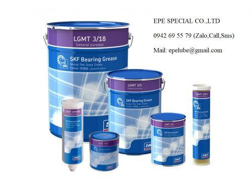 Mỡ bôi trơn SKF LGMT 3- Chính hãng (#LGMT 3/1, #LGMT 3/5, #LGMT 3/18)