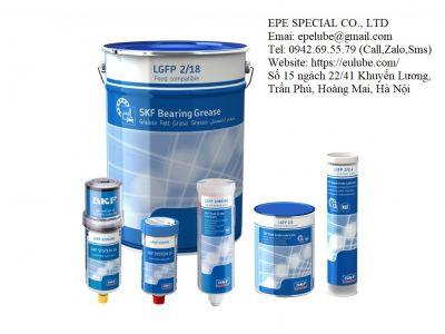 Mỡ bôi trơn SKF LGFP 2/1 - Chính hãng (LGFP 2 an toàn thực phẩm)